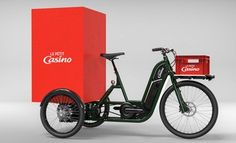 """& eBike Systems Hydrogen Electric Cargo Trikes Pragma Industries has been working on their hydrogen eBikes and now they are revealing hydrogen eTrikes intended for delivery. These pictures are some initial cargo designs for last mile delivery. From AllysonVought of Pragma """"What better solution for power than our hydrogen system that affords the user the extended range only H2 can offer as well as full operating specs no mater the outside temperatures that is an issue for many of the usual…"""