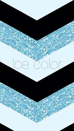 iPhone wallpaper blue glitter