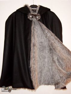cape fur lined - Google Search