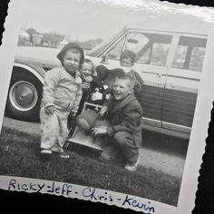 Throwing it way back... My Dad and his brothers : )
