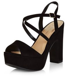 Discover the latest trends with New Look's range of women's, men's and teen fashion. Browse of new lines added each week. Black Block Heel Pumps, Black Pumps Heels, Block Heels, Black Sandals, Black Court Shoes, Black Casual Shoes, New Look Shoes, Wide Shoes, Strap Sandals