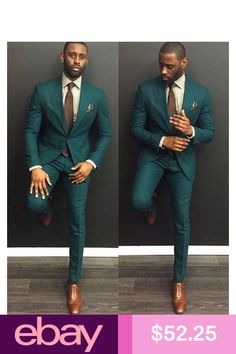 Green Custom Slim Fit Mens Business Suit Jacket Pants Tie Handsome Men s Suits Spring 2018 Hot Sell Wedding Suits Groom Ebelz Custom – Online Pin Page The Suits, Suit And Tie, Prom Suits For Men, Green Suits For Men, Cool Mens Suits, Black Suits, Mens Suits Style, Mens Casual Suits, Best Suits For Men
