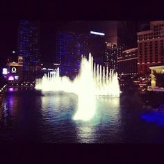 17.2.2012 Bellagio Fountains, Las Vegas.