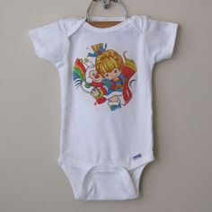 rainbow brite onesie - I want (for the kids obviously)