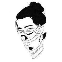 Dark Art Drawings, Tattoo Drawings, Tattoos, Aesthetic Drawing, Aesthetic Art, Desenho Tattoo, Black And White Drawing, Foto Art, Art Inspo
