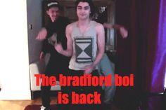 Bradford bad boi is back. xx