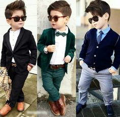 nice outfit for this cute little boys