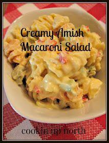 cookin' up north: Amish Macaroni Salad