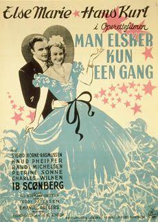 Man elsker kun een gang (1945) Peter for en stor chance på scenen, men man vil ikke have at han er gift.