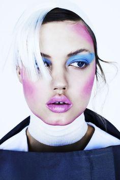 Publication: Fat Magazine Spring Summer 2014 Model: Lindsey Wixson Photographer: Henrik Bulow Fashion Editor:  Alexandra Carl