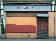 Mirror TV, Brooke Road N16 A series celebrating 5 years of London Shop Fronts#bestoflondonshopfronts