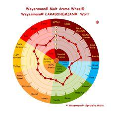 Weyermann® Malt Aroma Wheel® Carabohemian® - Wort