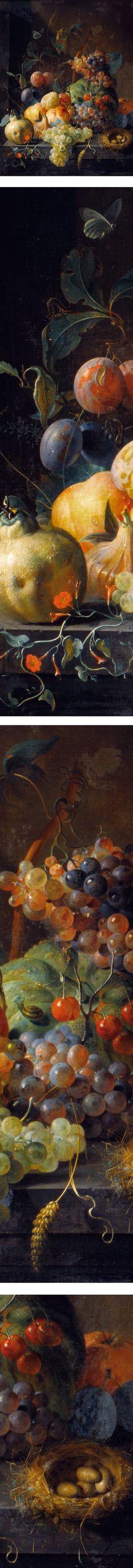 Still Life with Fruit (1720), Coenraet Roepel (1678 – 1748)