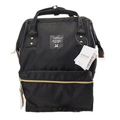 Anello Official Black Japan Unisex Fashion Backpack Rucksack Diaper Travel  Bag in Clothing 09d1b5b98bc16