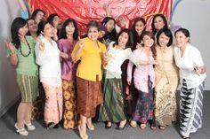 Indonesian traditional ..Kebaya