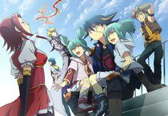 Yu-Gi-Oh! 5D's by Abaraya