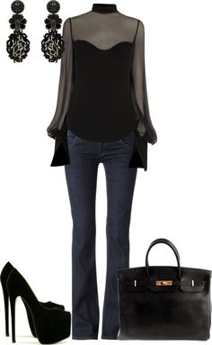 """""""Casual On A Date With Sexy"""" by strawberrybrownie ❤ liked on Polyvore"""