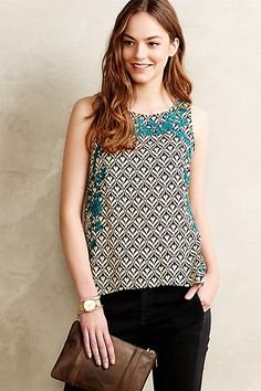 Anapia Tank - anthropologie.com #anthroregistry