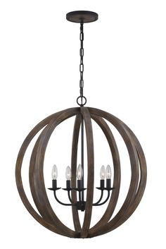 Allier 5 Light Foyer Pendant
