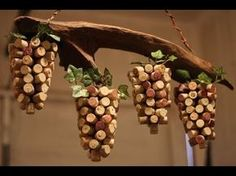 DIY Wine cork coasters and Trivets - YouTube
