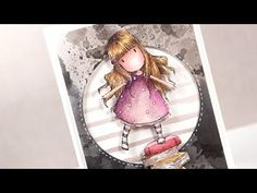 Distress Markers & Gorjuss New Heights - Color Wednesday #46 - YouTube