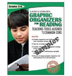 Free Graphic Organizers for Reading Sampler - 29-page ebook that you can print and use now! Includes sample lessons and graphic organizers from Laura Candler's Graphic Organizers for Reading: Teaching Tools Aligned with the Common Core