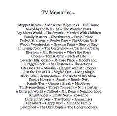 TV Memories