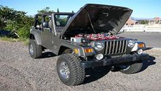 """Wrangler EV conversion... Would love to see the the specs of performance/range once converted. Honestly just cool that someone has done this. No cost, and would imagine """"not cheap"""" should cover it..."""
