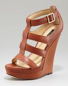 Rachel Zoe: Kelsey Platform Wedge Sandal. I love these strapy heels!