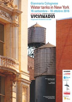 Gianmaria Colognese Water tanks in New York Water Tank, Pisa, Yorkie, Tower, New York, Building, Fotografia, Dunk Tank, Rook
