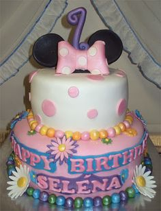Delana's Cakes: Minnie Mouse Cakes