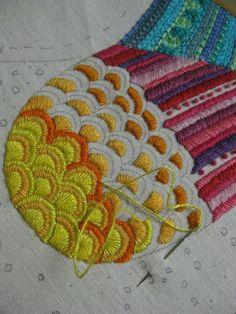 From Karin Holmberg's Blog - påsöm embroidery