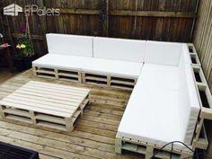 Paleta Outdoor Sofa salóniky a záhrada Sady Pallet Sedačky