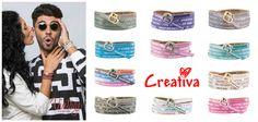 We Positive - Perfect for everyday. Jetzt neu in der Geschenkeboutique Creativa in der Altstadt (pelzgasse7) in Aarau - oder Online auf www.natura24.ch. #positive #fashionaccessory #musthave #creativa #natura24ch #happy #wepositive #armbänder #echtleder #bracelets #Lifestyle #trend #present #like #mussichhaben #creativa1001 #Wickelarmband #lederarmband #wrapbracelet Trends, Boutique, Fashion Accessories, Positivity, Creativity, La Mode, Old Town, Gifts, Boutiques