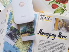 HP Sprocket Printer - - Travel Journaling Guide – Part 2: Essential Items for the Road