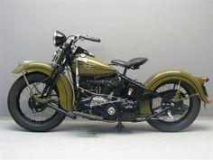 1938 Harley Davidson knucklehead #harleydavidson #harleydavidsonknucklehead