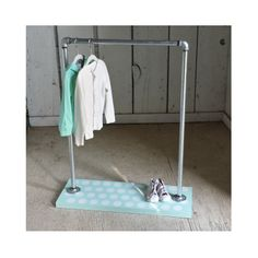 Mint Polkadot  Dress Up Rack  Children's by MavIndustrial4Kids, $295.00