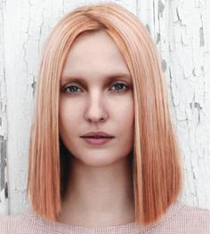 Saw this image today while getting my hair done and I think I'm obsessed.  Winter Peach Aveda 2013