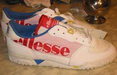 Ellesse Tanker - The 50 Greatest Tennis Sneakers of All Time Vintage Sneakers, Classic Sneakers, Vintage Shoes, Casual Sneakers, Vintage Outfits, Tennis Sneakers, Sneakers Nike, Ellesse Shoes, Retro Sportswear