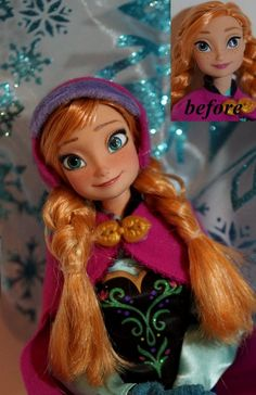 Anna of Arendelle OOAK doll by lulemee on deviantART
