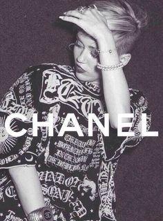 Chanel. Miley Cyrus.