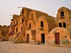 M'Zab Valley, Algeria. World heritage site. 5 fortified cities in the desert.