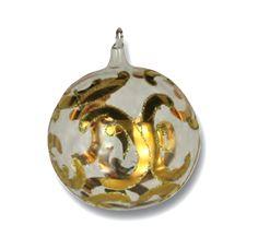 24 k Gold Ball Ornament