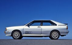 Audi Quattro, 1980s early model in Diamond Silver Metallic