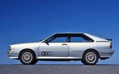 Audi Quattro, early car in Diamond Silver Metallic