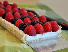 Mixed Berry and Mascarpone Tart! #4thOfJuly