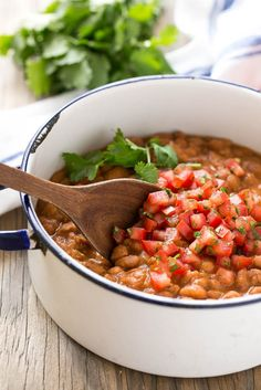 Easy Mexican Pinto Beans and Rice
