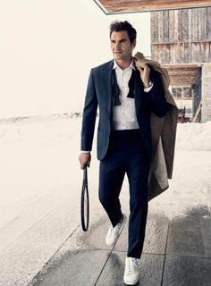 Roger Federer para GQ USA por Craig McDean