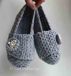 My mum's slippers crochet pattern!