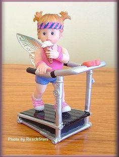 My Little Kitchen Fairies Booty Workout Fairie Free Shipping   eBay
